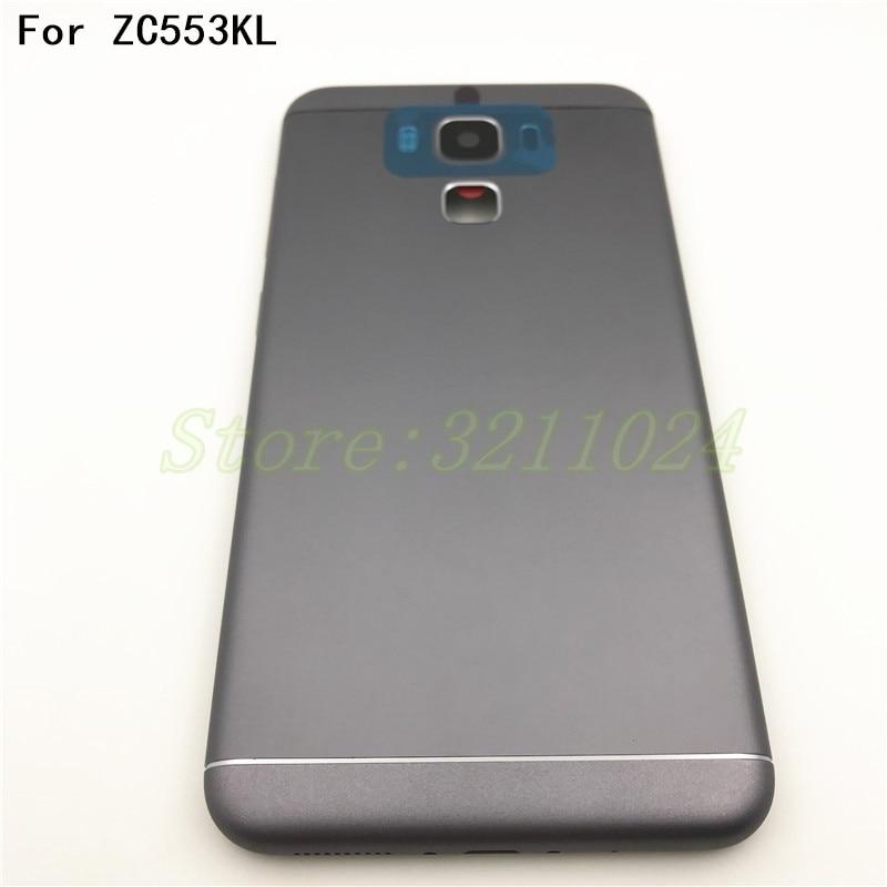 5.5 Original ZC553KL Battery Back Cover For ASUS Zenfone 3 Max ZC553KL Battery Door Back Case Housing With Logo