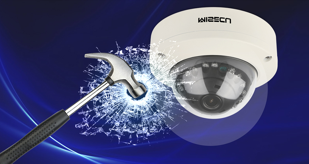 Image 4 - MISECU 2.8mm Vandalproof 1080P 960P 720P H.265/H.264 48V POE Camera Metal Dome Onvif P2P Motion Detect RTSP Email Alert CCTV-in Surveillance Cameras from Security & Protection