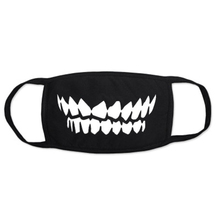 Devil Tooth Half Face Mask Masks Halloween Terror Masquerade Mask Party Supplies Carnival Party Decorations Carnival Party Prop