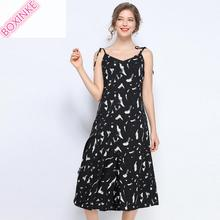 Vadim None Dress Women New Arrival Zanzea And Summer 2019 Big Size Womens Fat Mm Flower Suspender Dresses Seaside Holiday Sexy
