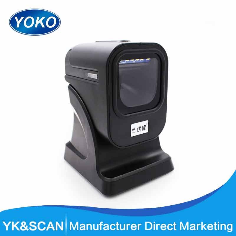 1D/2D/QR Meilleure présentation scanner 2D omnidirectionnelle Barcode Scanner plate-forme 2D code à barres Omnidirectionnel Livraison gratuite!