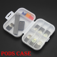 Storage-Box Vape-Accessories-Case MYLE RELX PHIX Cartridge Portable for JUUI Pods 8-Slots