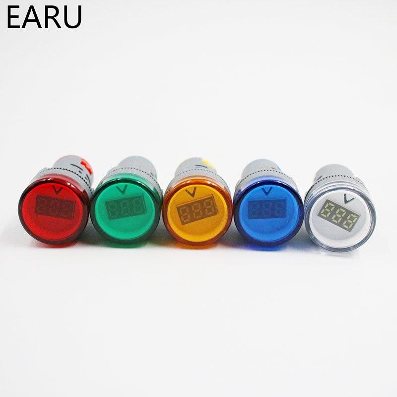 22 мм светодиодный цифровой Дисплей AC 60-500 В 0-100A Ampermeter Амперметр Вольтметр Напряжение Амперметр Датчик Индикатор сигнала сигнальная