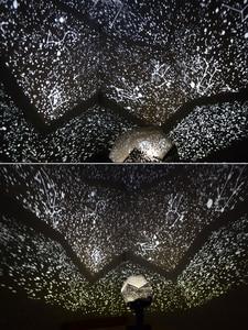 Image 5 - الجيل الخامس LED العلوم النجوم المحيط موجات السماوية مصباح إسقاط أبيض أصفر أزرق اللون السماء نجمة العارض ضوء الليل