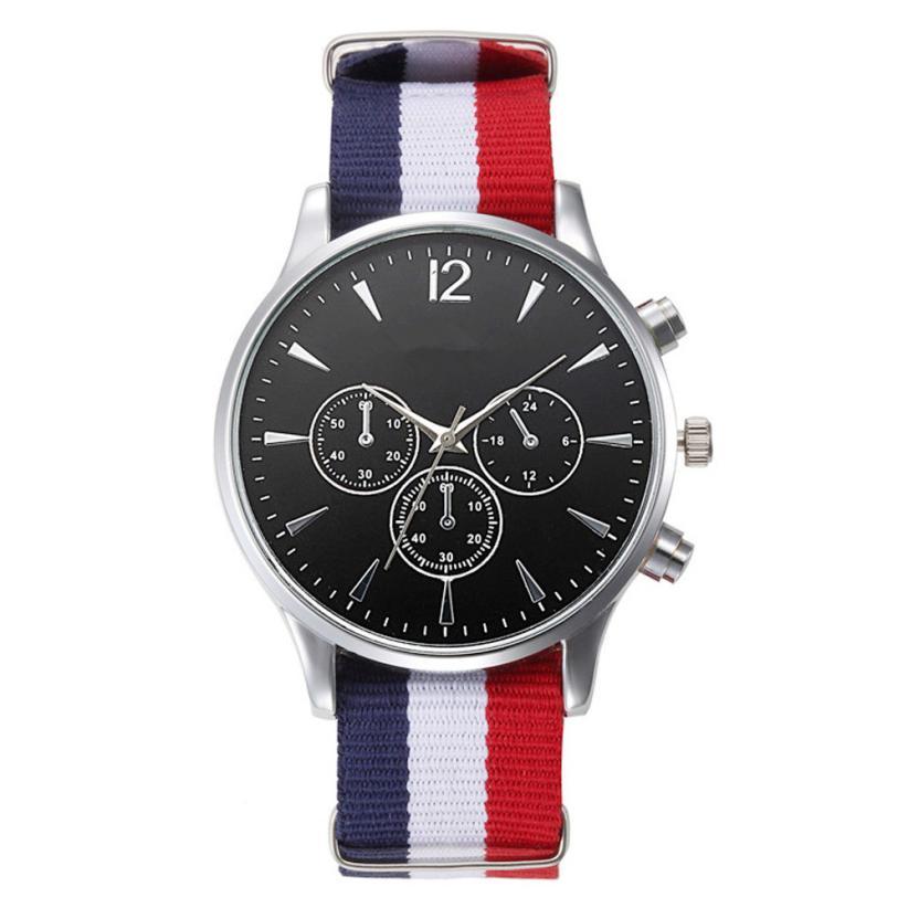 Men's Watch 1PC New Luxury Fashion Canvas Mens Analog Watch Wrist Watches  drop shipping              2018JUL9|Quartz Watches| |  - title=