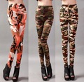Stretch cotton camouflage Leggings spring new milk silk printing nine pants pants in summer