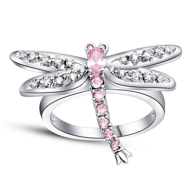 Dragonfly Design Ring