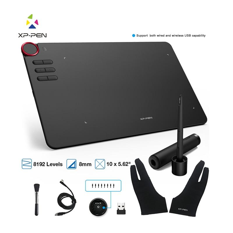 Tablet graficzny XP Pen Deco 03 cyfrowy Tablet do rysowania bezprzewodowy 2.4G 8192 poziom rysunek graficzny bateria tableta-bezpłatny dropshipping