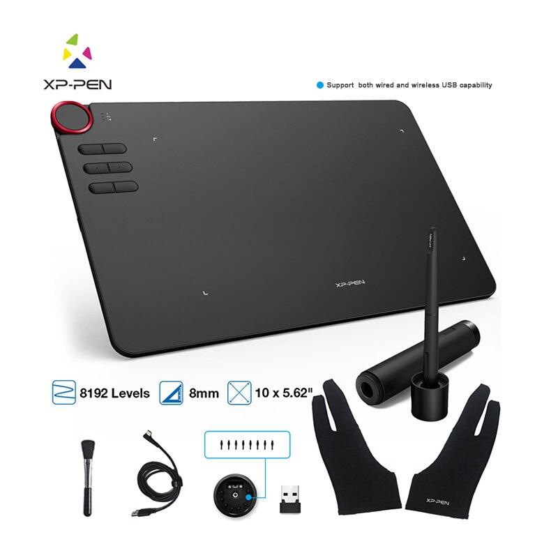 XP stylo graphique tablette Deco 03 numérique dessin tablette sans fil 2.4G 8192 niveau graphique dessin tablette batterie-livraison directe gratuite