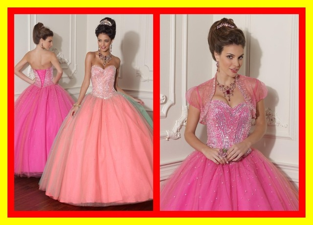 Short Dama Dresses For Quinceanera Pink And White Wedding In New
