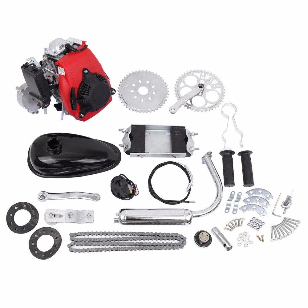 (schiff Von Usa) 49cc 4 Hub Zyklus Motor Kit Motorisierte Fahrrad Benzin Gas Fahrrad Motor Set Gutes Renommee Auf Der Ganzen Welt