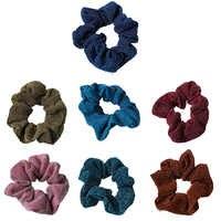 Women Shiny Rubber Band Girls Hair Tie Hair for Hair Glitter Metalic Scrunchies Elastic Ponytail Holder