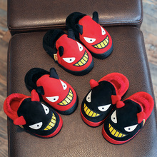 Children Cotton Slippers Autumn and Winter Lovely Cute Kids Baby Girl Boy Indoor Home Shoes Fashion Toddler