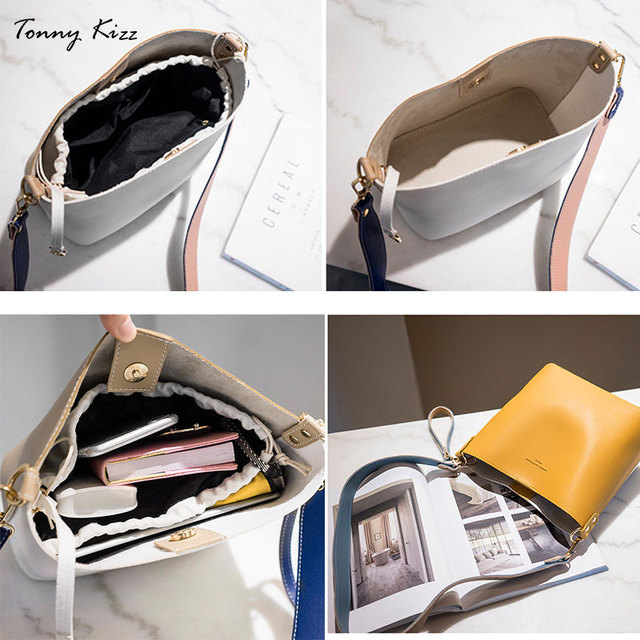 Panelled bags for women shoulder handbag leather female crossbody bags large capacity ladies hand bags