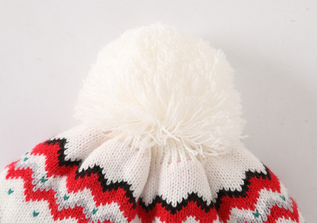 c1e6ec7c14a baby   kids girls white snowflakes winter fleece earflap beanie hat ...