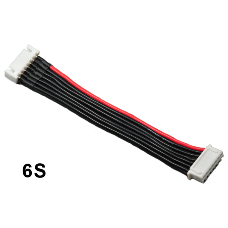 2016 New Arrival JST XH 2S 3S 4S 5S 6S LiPo Balance Cable Charging Power Wire 10CM For Multicopter Part jst xh 2s 3s 4s 5s 6s lipo balance cable charging power wire 10cm
