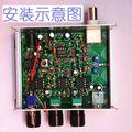 НОВЫЙ Алюминиевый корпус Для Diy kit Воздуха группа приемник, Высокая чувствительность авиация радио