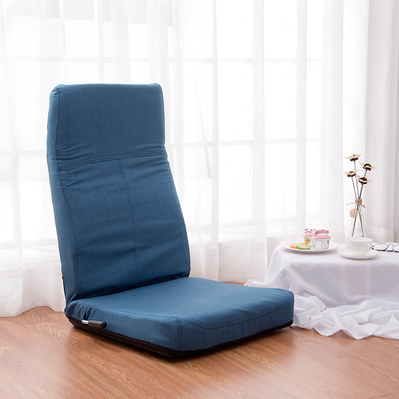 Adjustable 14-Position Floor Legless Chair Folding Lazy Sofa Floor Sofa Chair Cushion Living Room Furniture Video Gaming Chair