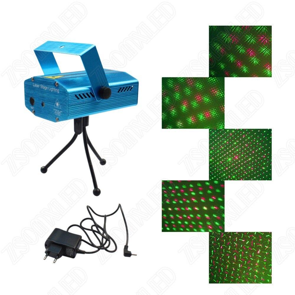 RGB Mini Laser Projector DMX LED Stage Lighting Professional DJ ...