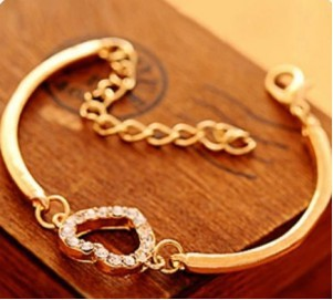 5e58cf376112a الجملة ساخنة جديدة أزياء سخية الحب الأزياء كريستال سوار مجوهرات اكسسوارات  أساور