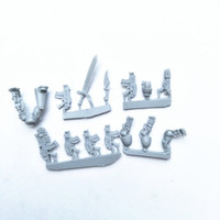 Unpainted Resin Figure Model Kit For Iron Hands Bionic Parts Upgrade Kit Unassemble