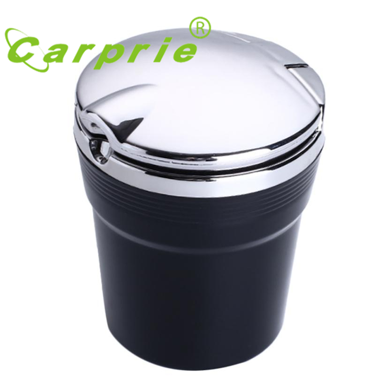 Car Auto Truck Desktop Cigarette Smoke Ashtray Ash Tray Cup Holder LED Light_KXL0718