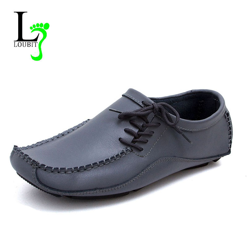 casual shoes genuine leather 2015 driving moccasins