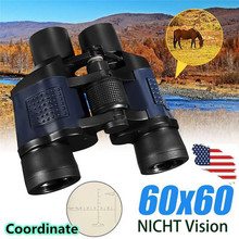 New 60×60 Binoculars Telescope With Night Vision High-Powered High-Definition Green Film with coordinate #3M29