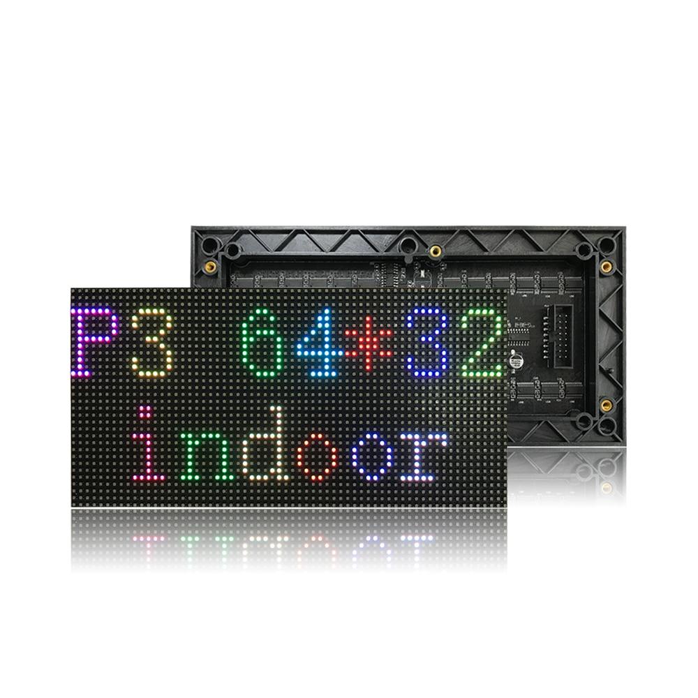 P3 Full Color Led Display Module,indoor LED Panel, SMD2121 RGB,1/16 Scan 192*96mm, 64*32 Dot