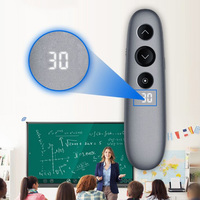 New Hot Digital Laser Presentation Remote Wireless PowerPoint Pen with LCD Timer