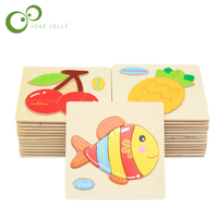 Retail Baby Children Educational Wooden Toys Puzzle Kids 15*15cm brinquedos educativos toy for children