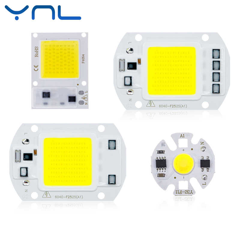 COB LED Chip Light 220V 10W 50W 20W 30W 3-9W rectangular Chip For Spotlight Led Floodlight Lamp Y27 Y32 Not Need Driver DIY Floo