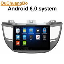 Ouchuangbo 10.1 inch Android 6.0 multimedia Fit for Hyundai Tucson IX35 2015 2016 with radio gps Navigation audio mp3 usb aux
