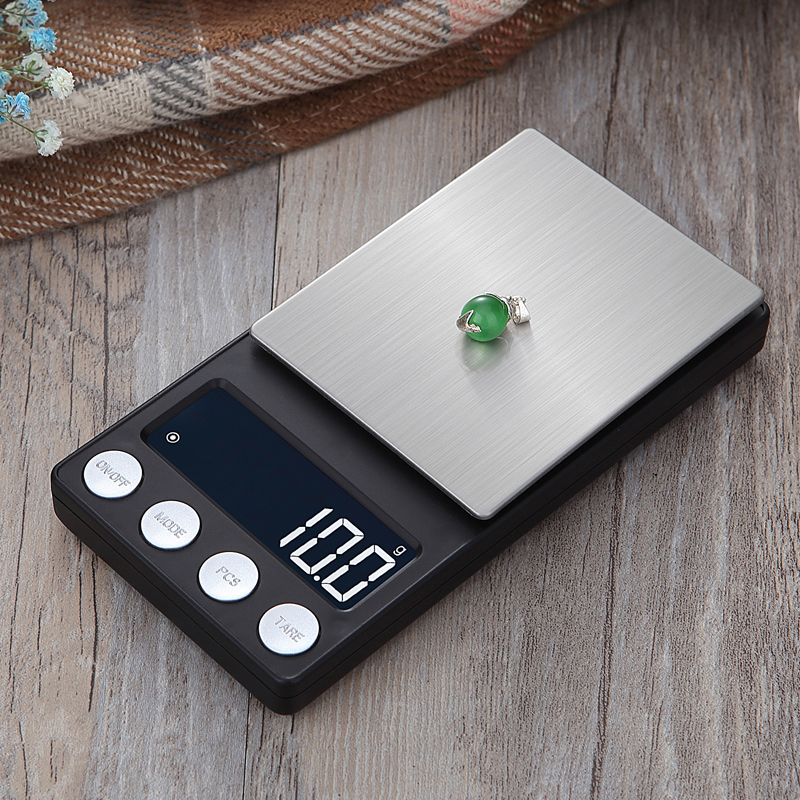 Image 5 - High Precision pocket Jewelry Scales Balance 0.01g Portable digital Lab Weight Gram scale Medicinal Use-in Weighing Scales from Tools