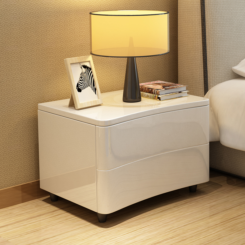 028f4fe5f9 Simple modern European white Bedside cabinet bedroom nightstand-in  Nightstands from Furniture on Aliexpress.com | Alibaba Group