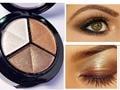 Dropshipping 3 Mixed Colors Women Comestic Eyeshadow Long Lasting Makeup Eye Shadow Free Shipping 007