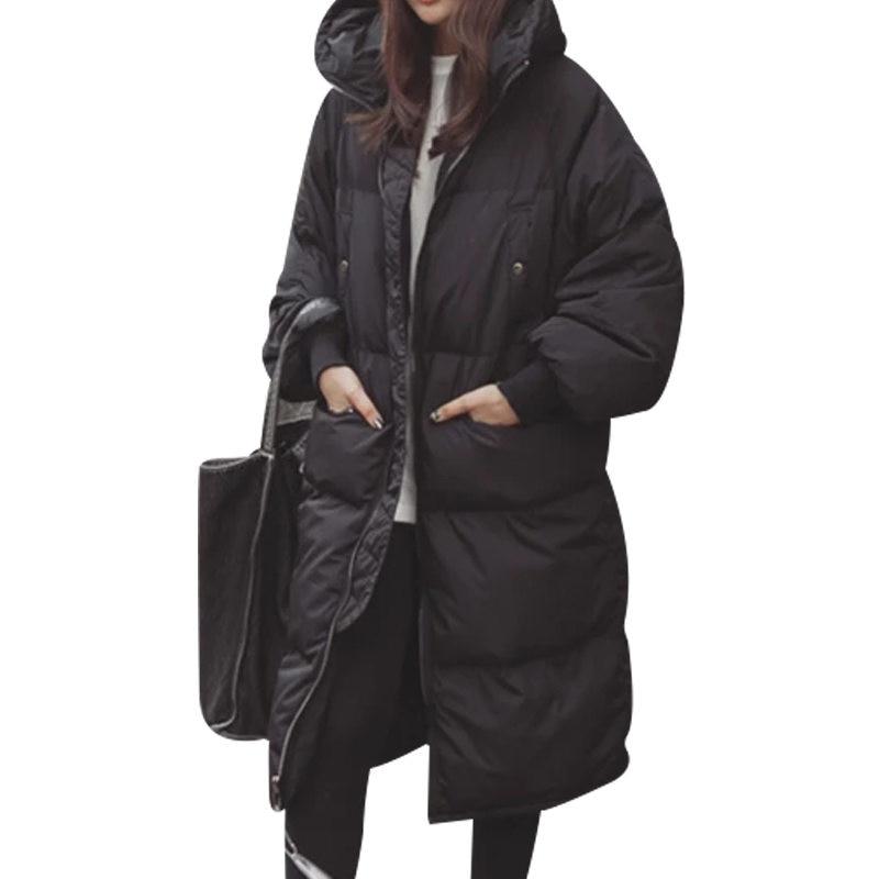 New Winter Jacket Women Casual Winter Coat Women Black Plus Size Women   Parka   Casaco Feminino Warm Jacket Jaqueta Feminina C4999