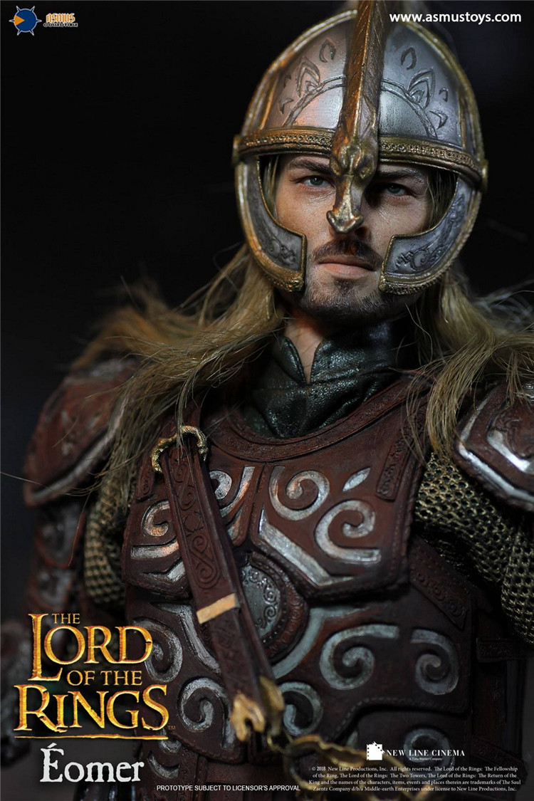 1//6 Asmus Toys Action Figure The Lord of the Rings Eomer Figure LOTR011