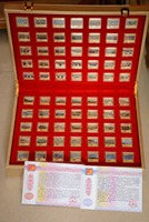 Chinese government issued Year(2015)commemorate World War II Victory 70 year colorful silver coin,military parade ,70 piece(Set)