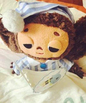 2018 new 1PC cute Yebypawka Plush Toy Cute Monkey Stuffed Animal Cheburashka Soft Doll toys for children