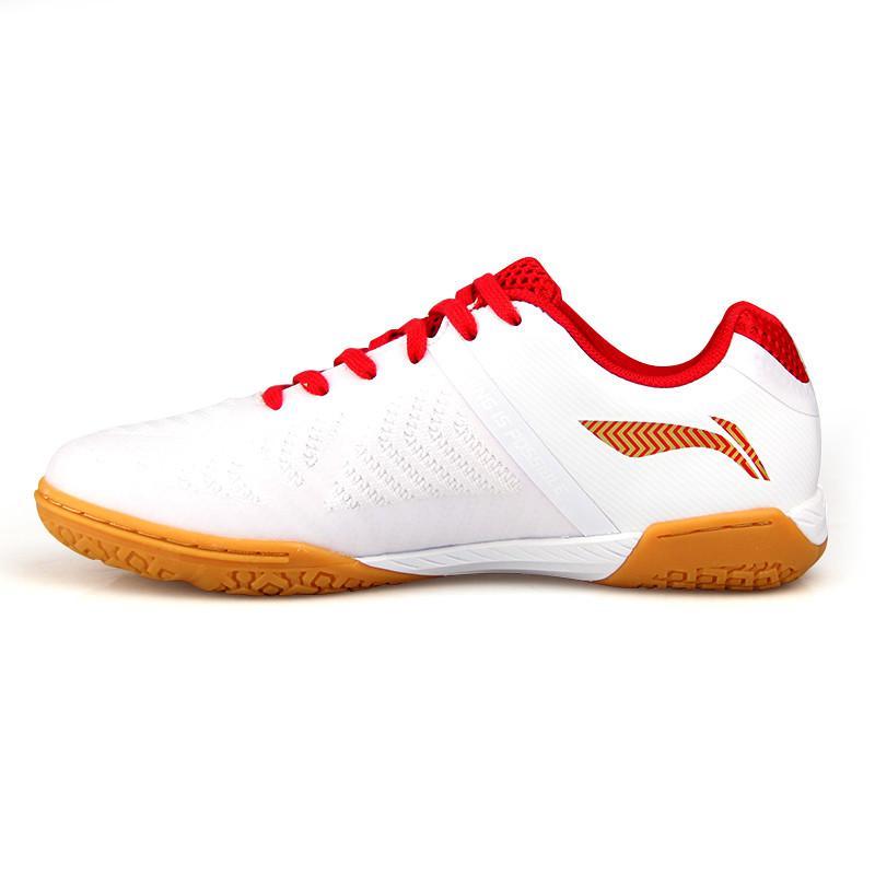 Новинка, Li-ning, мужская сборная обувь для настольного тенниса, анти-скользкая эластичная лента, профессиональные спортивные кроссовки - Цвет: APPN005
