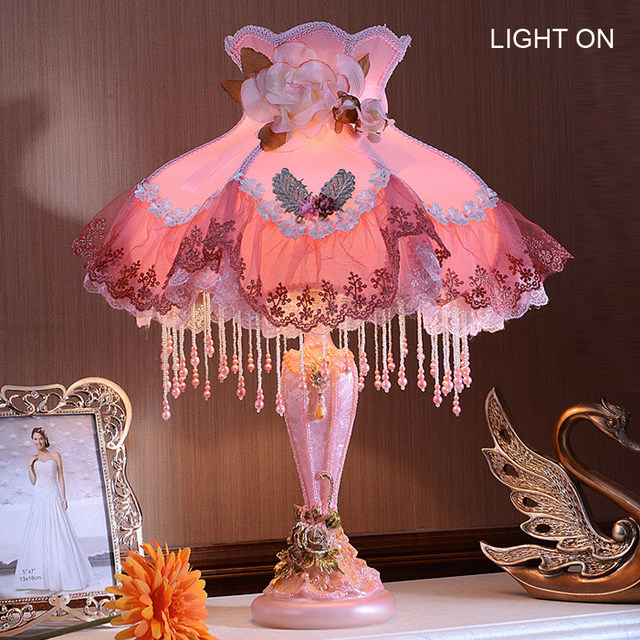 Online Shop Colorful Princess big table lamp light cute big gift ...