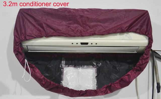 3.2meters Air conditioning cleaning cover Waterproof clean tools Air condition cover air conditioner cleaning cover