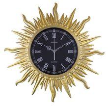 Fashion vintage derlook horologe art wall clock modern mute resin