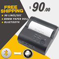 RD-80LYDD 80mm mini wireless bluetooth thermal printer receipt printer support Android for pos restaurant