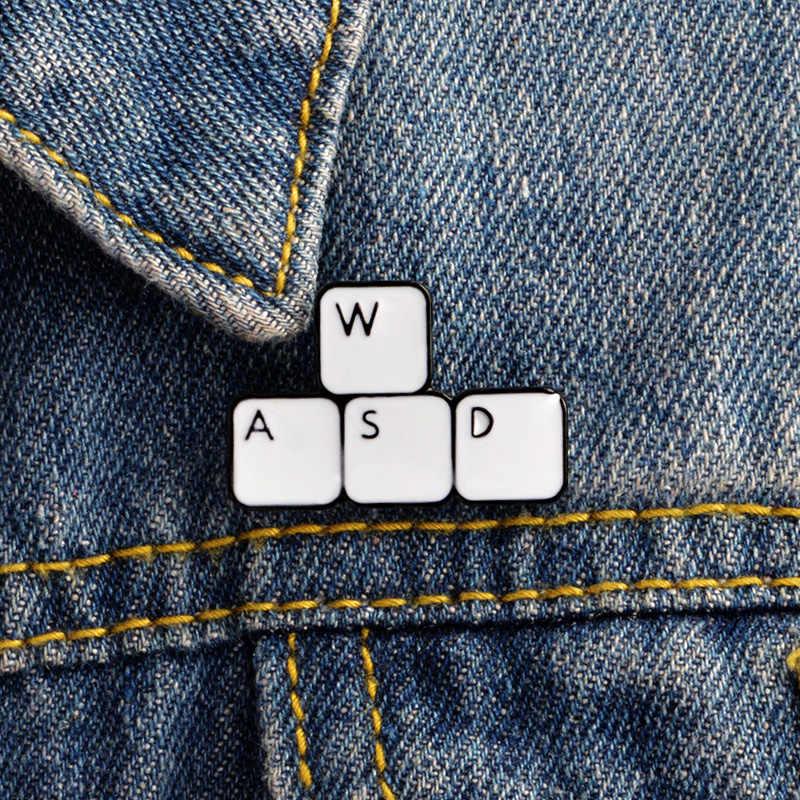 Gaming Keyboard, эмаль, булавки, ключи, планшеты, броши, подарок, игра, значок, джинсы, значок в виде пуговицы для одежды, кепка, сумка