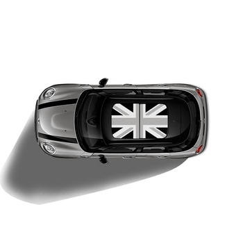 Autocollants De Voiture   Autocollant De Toit Ouvrant Union Jack Voiture KK Autocollant De Toit Auto Pour MINI Cooper One S JCW F54 F55 F56 R55 R56 R60 F60 Countryman Accessoires