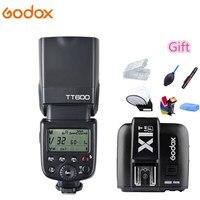 Godox Camera Flash TT600 2.4G Wireless X System GN60 HSS 1/8000s Speedlite + X1T F Transmitter For Fujifilm Fuji X M1 X A3 X E2