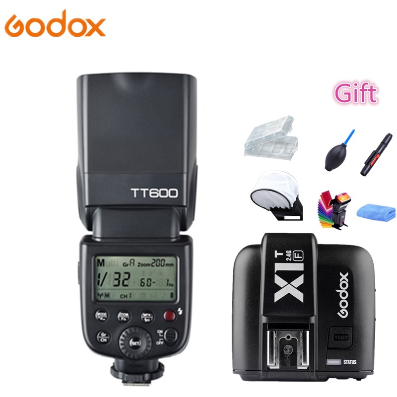 Godox TT600 2.4G Wireless X System GN60 HSS 1/8000s Camera Flash Speedlite + X1T-F Transmitter For Fujifilm Fuji X-M1 X-A3 X-E2Godox TT600 2.4G Wireless X System GN60 HSS 1/8000s Camera Flash Speedlite + X1T-F Transmitter For Fujifilm Fuji X-M1 X-A3 X-E2