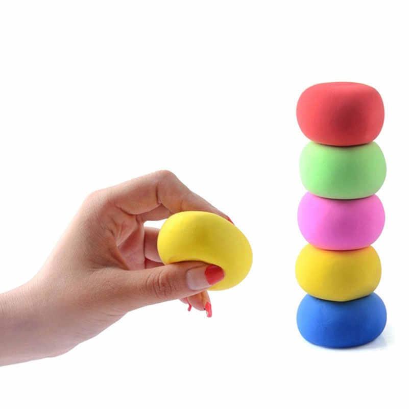 Слизь пушистая пена глина слизь DIY мягкий хлопок эластичный мяч Комплект без Borax образование ремесло игрушка антистресс дети игрушка для детей подарок